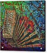 Cajun Accordian Acrylic Print