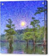 Cajun Moon Acrylic Print
