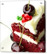 Cake Acrylic Print by Blink Images