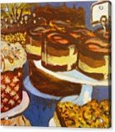 Cake Case Acrylic Print