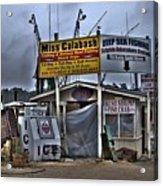 Calabash Bait Shop Acrylic Print by Corky Willis Atlanta Photography