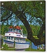 Calabash Deep Sea Fishing Boat Acrylic Print
