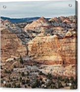 Calf Creek Canyon Grand Staircase Escalante Utah Acrylic Print