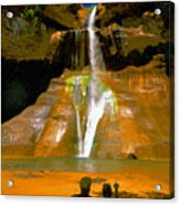 Calf Creek Falls Utah Acrylic Print
