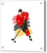 Calgary Flames Player Shirt Acrylic Print