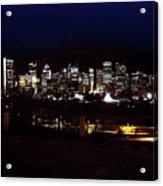 Calgary Skyline 2016 Acrylic Print