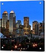 Calgarys Skyline Acrylic Print