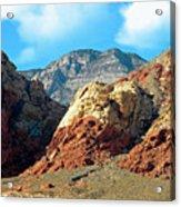 Calico Basin Nevada Acrylic Print