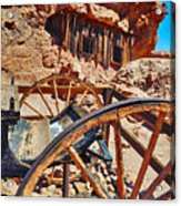 Calico Ghost Town Mine Acrylic Print