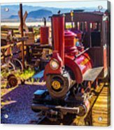 Calico Ghost Town Train Acrylic Print