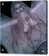 Calico Hippie Angel Acrylic Print