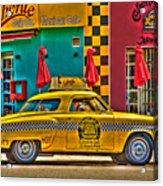 Caliente Cab Co Acrylic Print