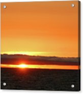 Calif Sunset March 2011 Acrylic Print
