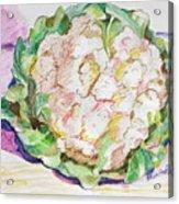 Califlower Acrylic Print