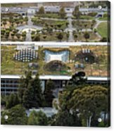 California Academy Of Sciences Living Roof In San Francisco Acrylic Print