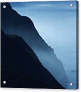 California Big Sur Coast Acrylic Print