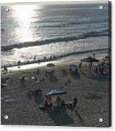 California Carlsbad Beach Almost Sunset Acrylic Print