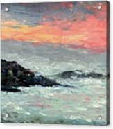 California Coast Acrylic Print by Gail Kirtz