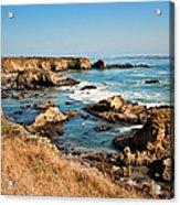 California Coast Rocky Cliffs Acrylic Print