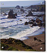 California Coast Sonoma Acrylic Print