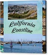 California Collage Acrylic Print