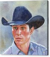 California Cowboy Acrylic Print