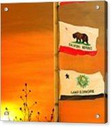 California Glory Acrylic Print