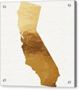 California Gold- Art By Linda Woods Acrylic Print