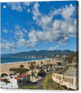 California Incline Palisades Park Ca Acrylic Print