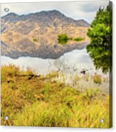 California Kaweah Lake Scene Acrylic Print