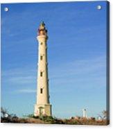 California Lighthouse Aruba Acrylic Print