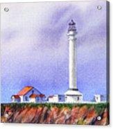 California Lighthouse Point Arena Acrylic Print