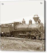 California Northwestern Railroad #30 4-6-0 Baldwin Locomotive Works Circa 1905 Acrylic Print
