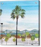 California Painting Acrylic Print