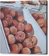 California Peaches Acrylic Print