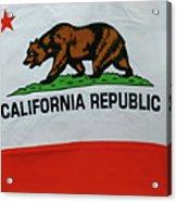 California Republic Flag Acrylic Print