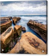 California Rocks Acrylic Print