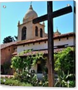 California Spanish Mission Acrylic Print