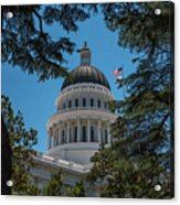 California State Capital Acrylic Print