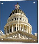 California State Capitol Cupola Acrylic Print