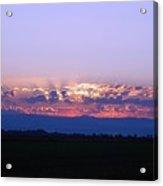 California Sunrise Acrylic Print