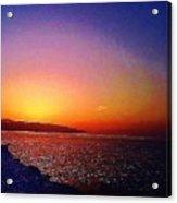 California Sunset 4.2008 Acrylic Print