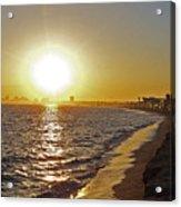 California Sunset Acrylic Print by Ernie Echols