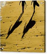 California Surfers On The Beach Acrylic Print