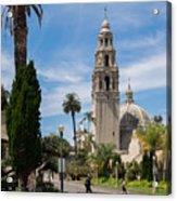 California Tower In Balboa Park Acrylic Print