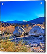 California Wilderness Panorama Acrylic Print