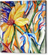 California Wildflowers Series I Acrylic Print