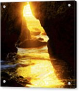 California's Gold Acrylic Print