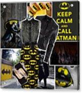 Call Batman Acrylic Print