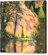 Call Of The Canyon Acrylic Print
